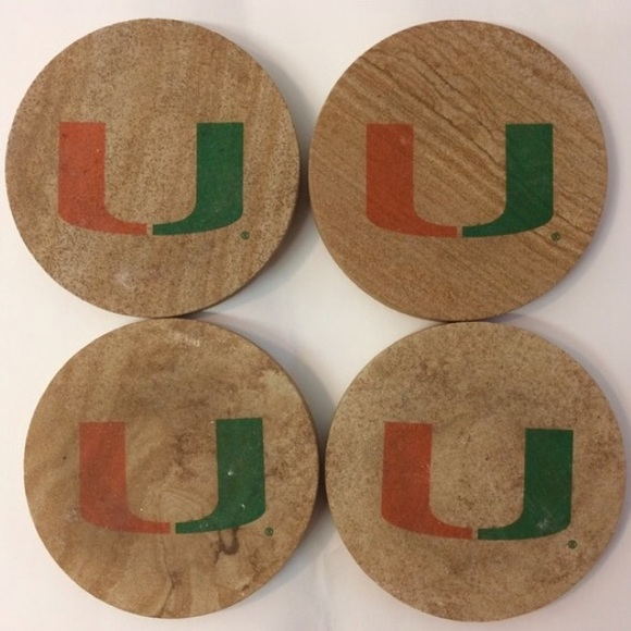 Thirstystone Natural Sandstone Set of 4 Coasters Texas A/&M
